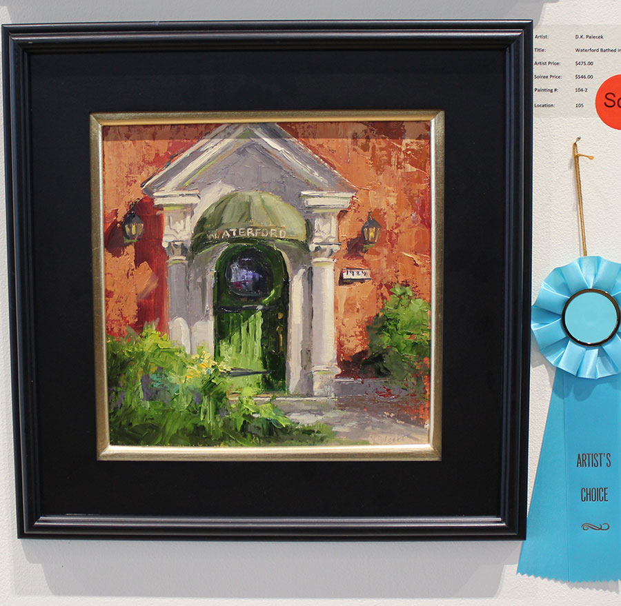Blick Artist Choice Award D.K Palecek Waterford Bathed In Light