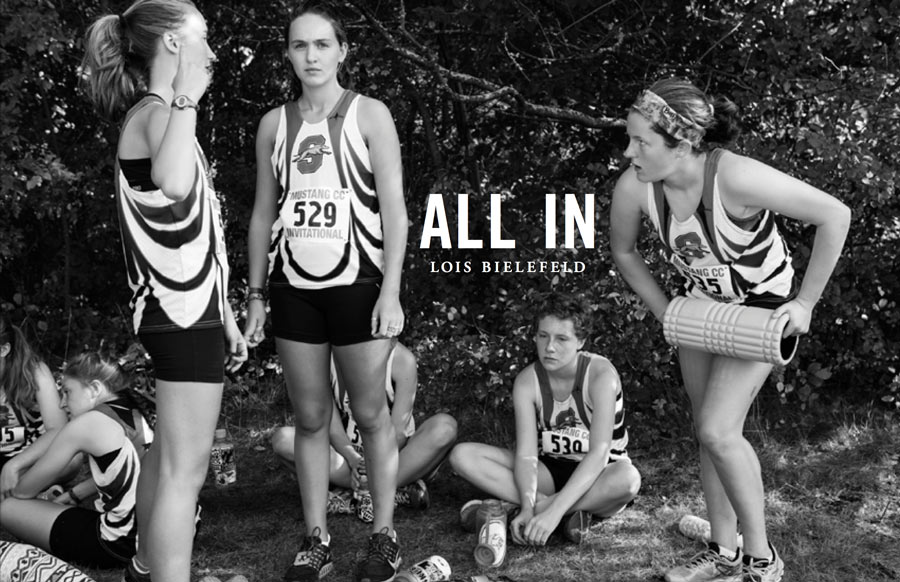 All In: Shorewood Girls Cross Country Photographs by Lois Bielefeld
