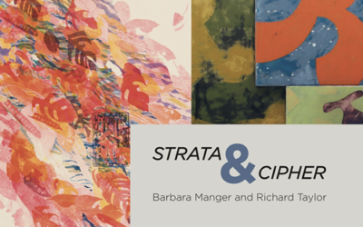 Strata & Cipher: Barbara Manger and Richard Taylor
